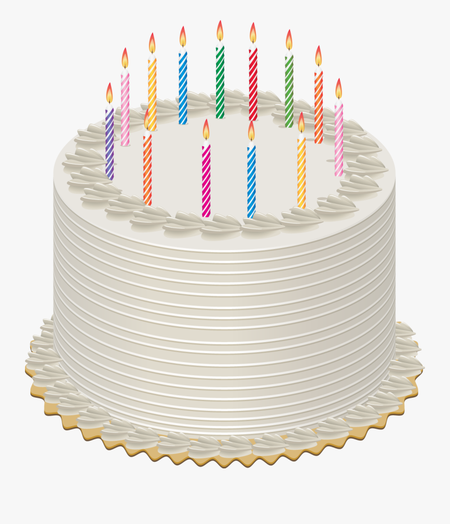 Transparent Birthday Candles Png - Birthday Cake Gif Png, Transparent Clipart