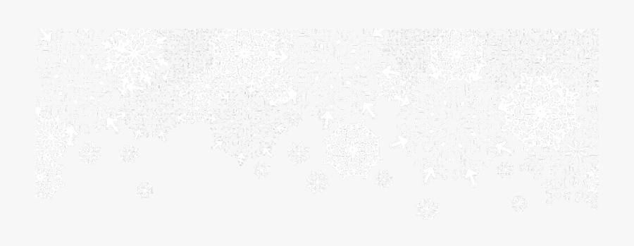 #ftestickers #border #snow #snowflakes #transparent - Transparent Winter Clip Art, Transparent Clipart