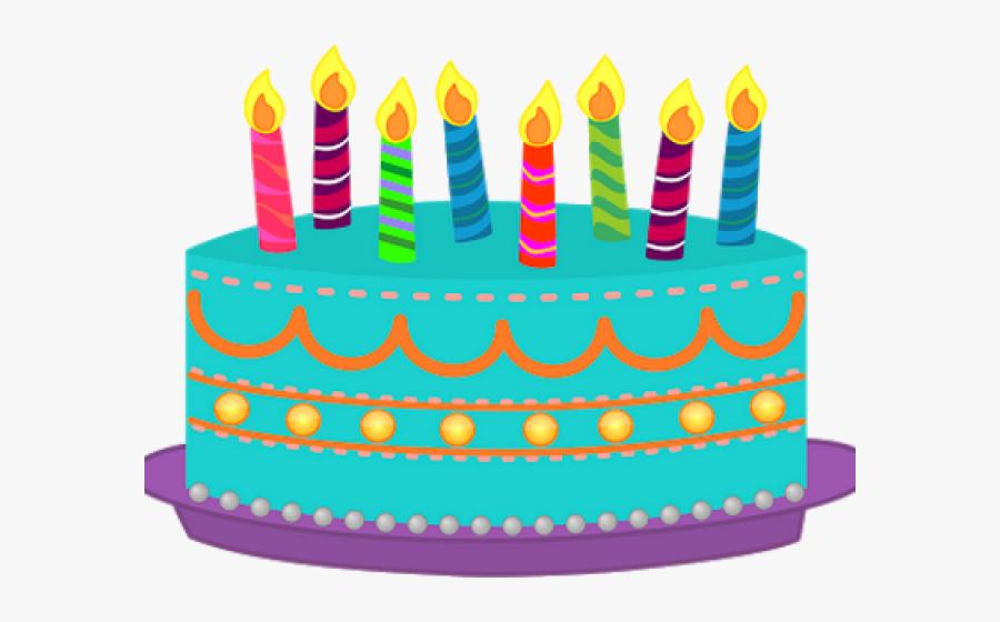 Birthday Cake Clipart 4th - Transparent Background Birthday Cake Png, Transparent Clipart