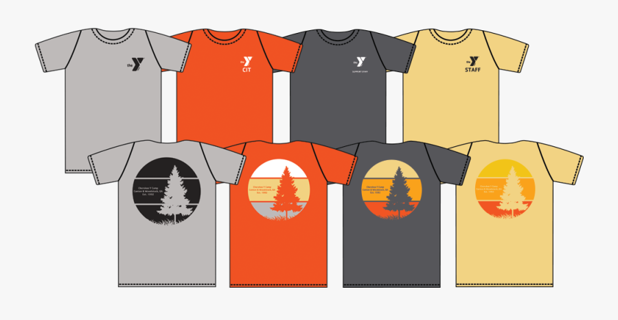 Camp Clipart Team Outing - Ymca Summer Camp Tshirts, Transparent Clipart