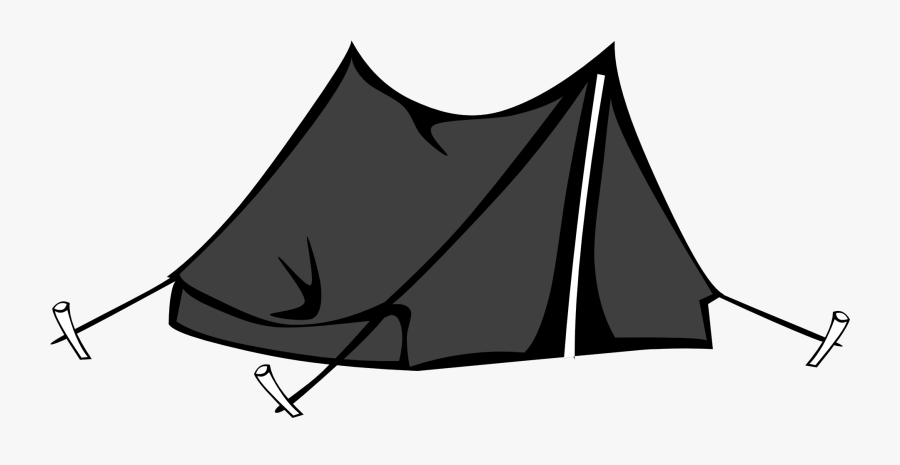 Clipart Tent Summer Camp - Camping Tent Clipart Png, Transparent Clipart