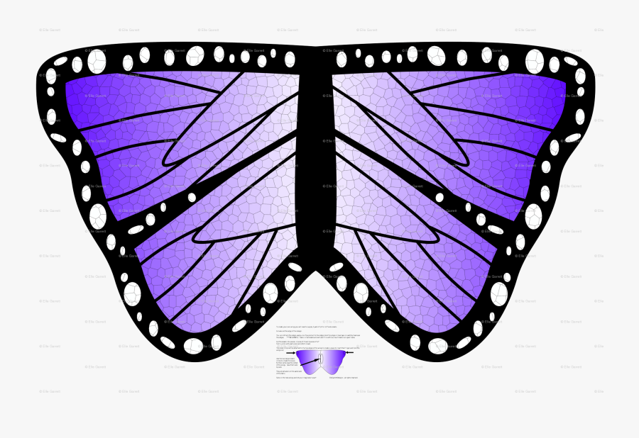 Transparent Butterfly Wings Png - Brush-footed Butterfly, Transparent Clipart