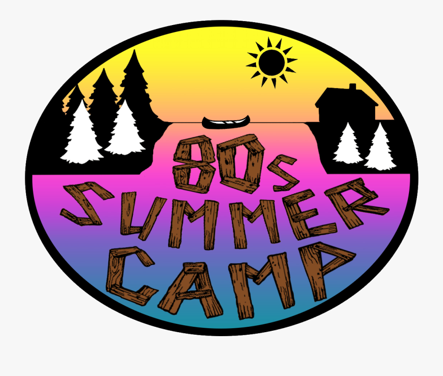 """80""""s Summer Camp Shop Clipart , Png Download - 80's Camping Clipart, Transparent Clipart"""