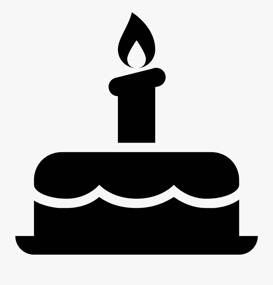 Birthday Cake Icon - Png Birthday Cake Icon, Transparent Clipart