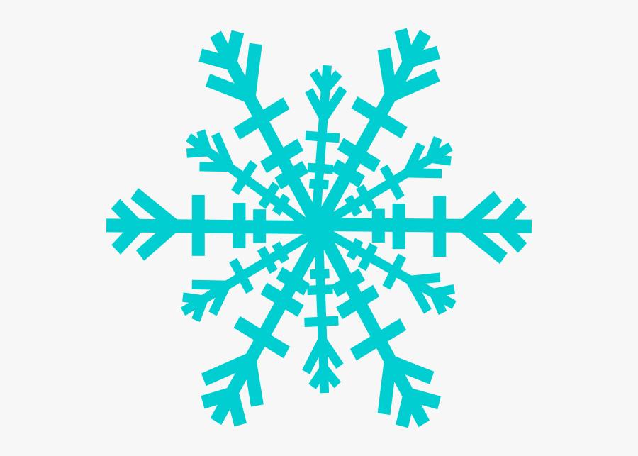 Snowflake Clip Art At Clker - Transparent Background Pink Snowflake Png, Transparent Clipart