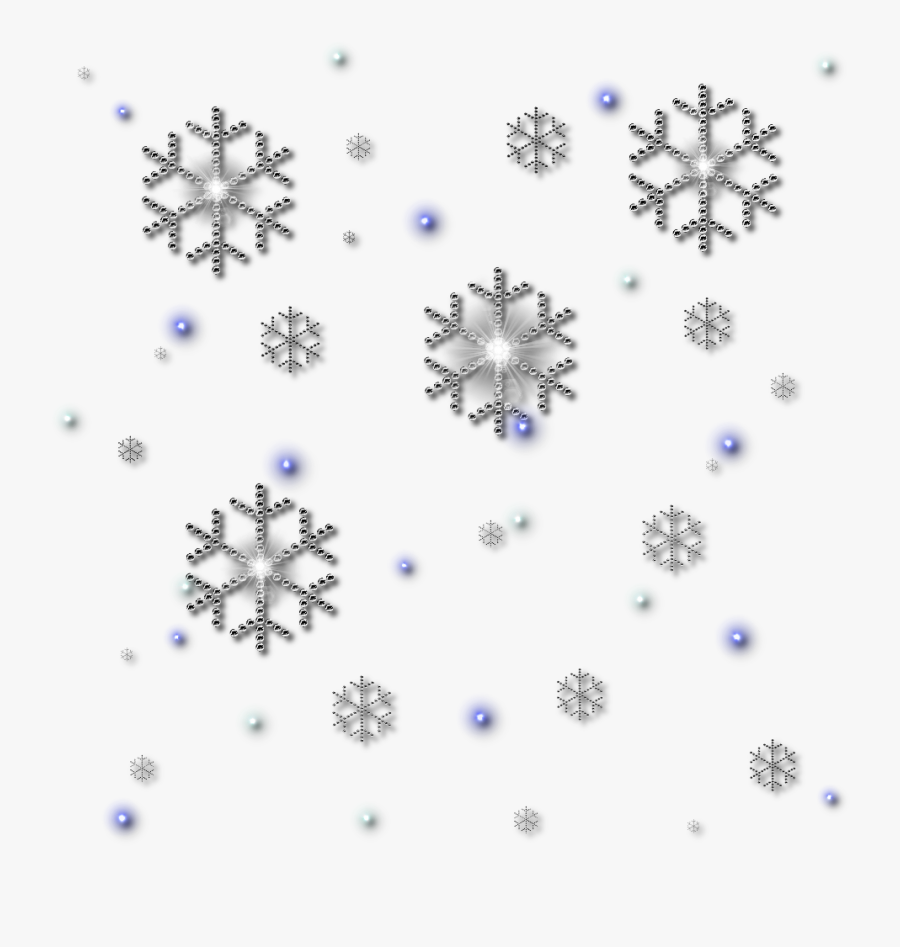 Clipart Royalty Free Stock Png Snowflakes Falling Best - Snowflake Png, Transparent Clipart