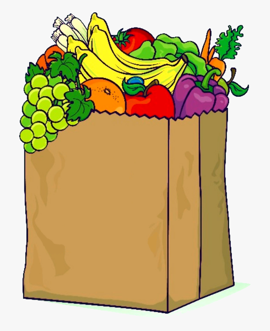 Pantry Clipart Food Distribution - Transparent Background Groceries Clipart Png, Transparent Clipart