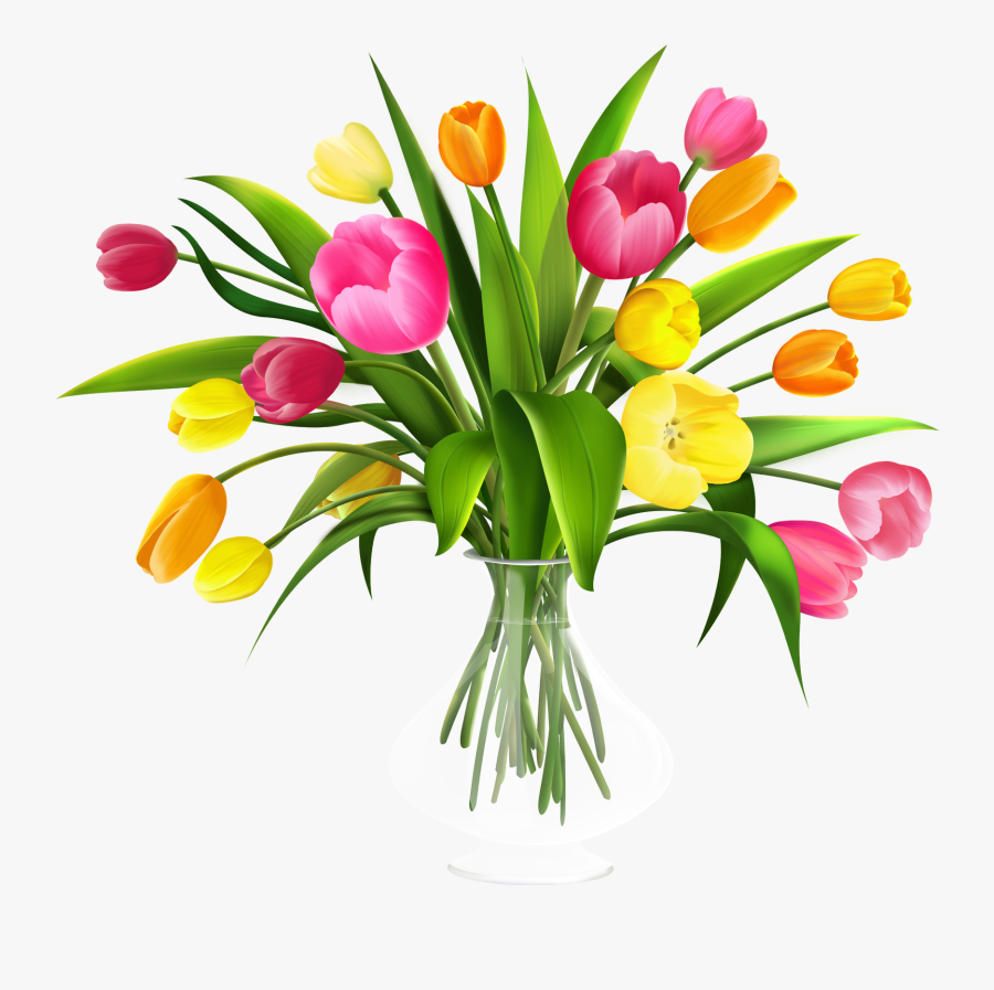 May Flowers - Transparent Background Flower Bouquet Png, Transparent Clipart