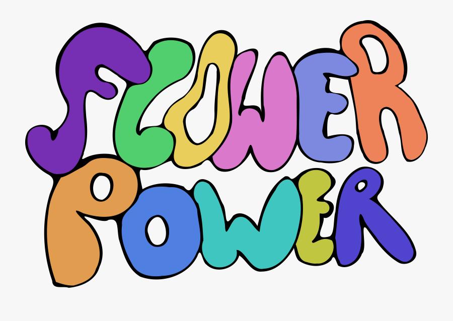 Thumb Image - Hippie Art Flower Power, Transparent Clipart