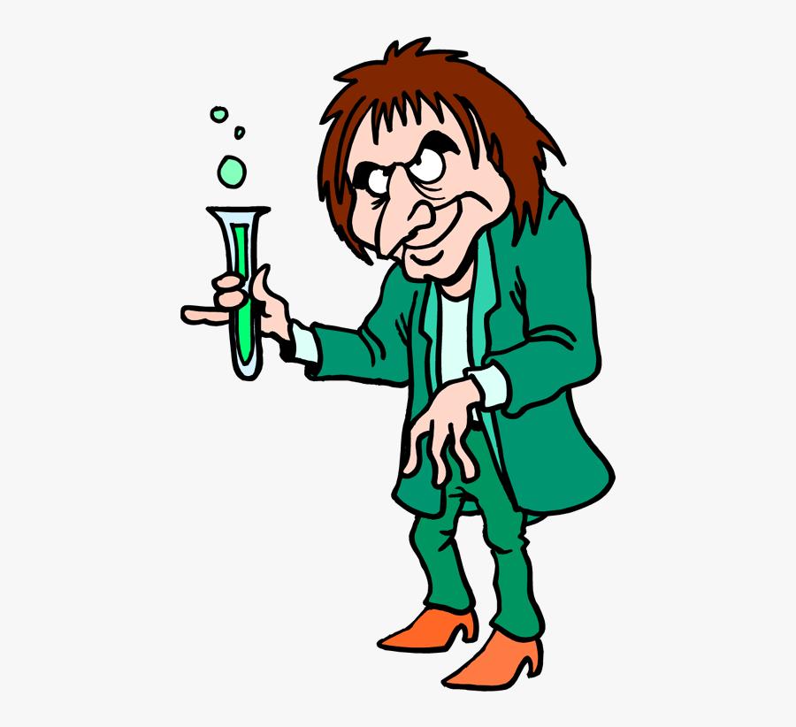 Mad Scientist Clipart , Png Download - Mad Scientist Vials Clip Art, Transparent Clipart