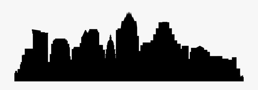 Banner Transparent Austin Skyline Clipart - Austin Texas Skyline Png, Transparent Clipart