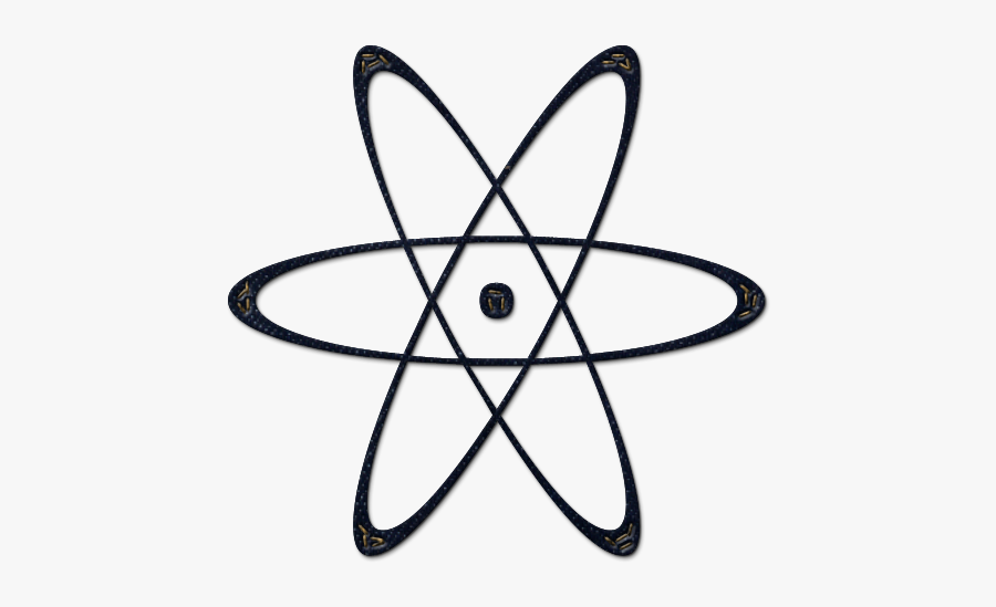 Nuclear Energy Power Symbol - Yin And Yang Atom, Transparent Clipart