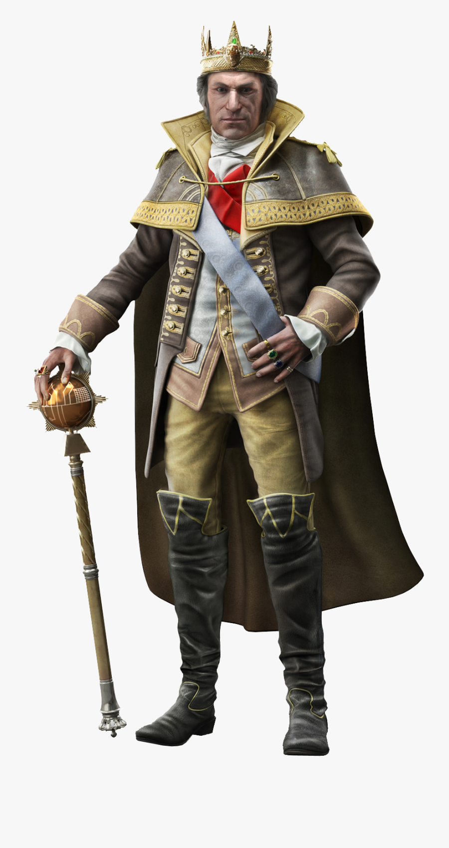 George Washington Png Image With Transparent Background - King George Washington Assassin's Creed, Transparent Clipart