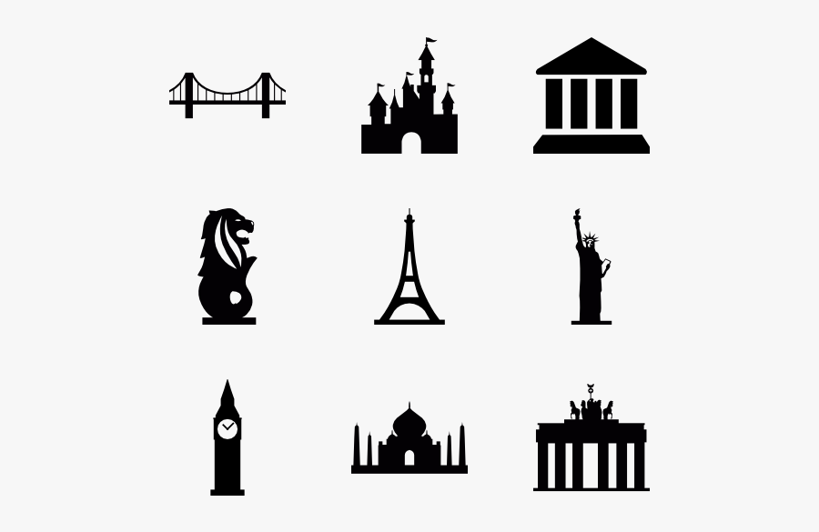 Skyline Clipart Landmark London For Free Download And - Landmark Clipart Png, Transparent Clipart