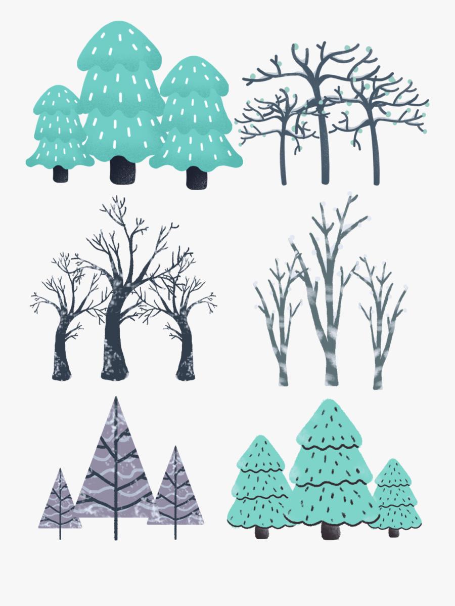 Transparent Pine Tree Branch Clipart - Christmas Tree, Transparent Clipart