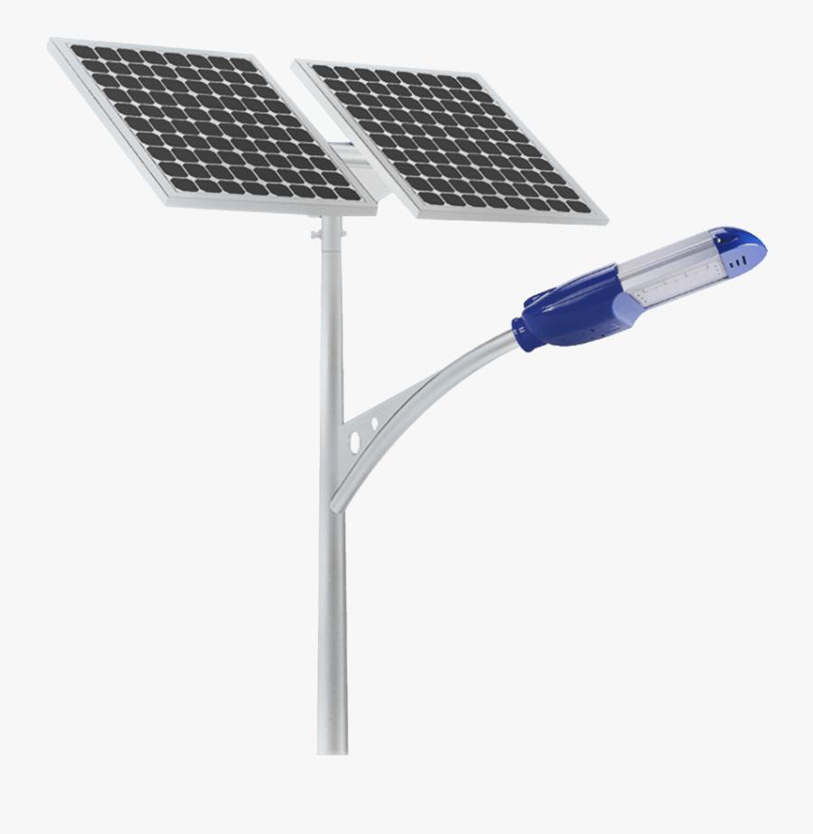 Solar Lighting Png Transparent - Solar Street Light Png, Transparent Clipart