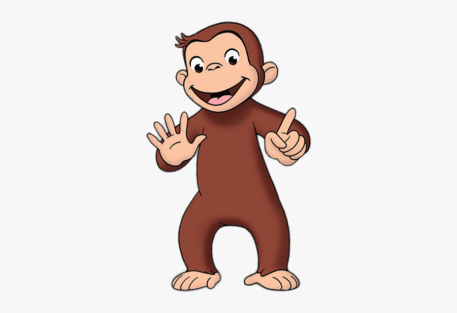 Curious George Counting To - George Curious Png, Transparent Clipart