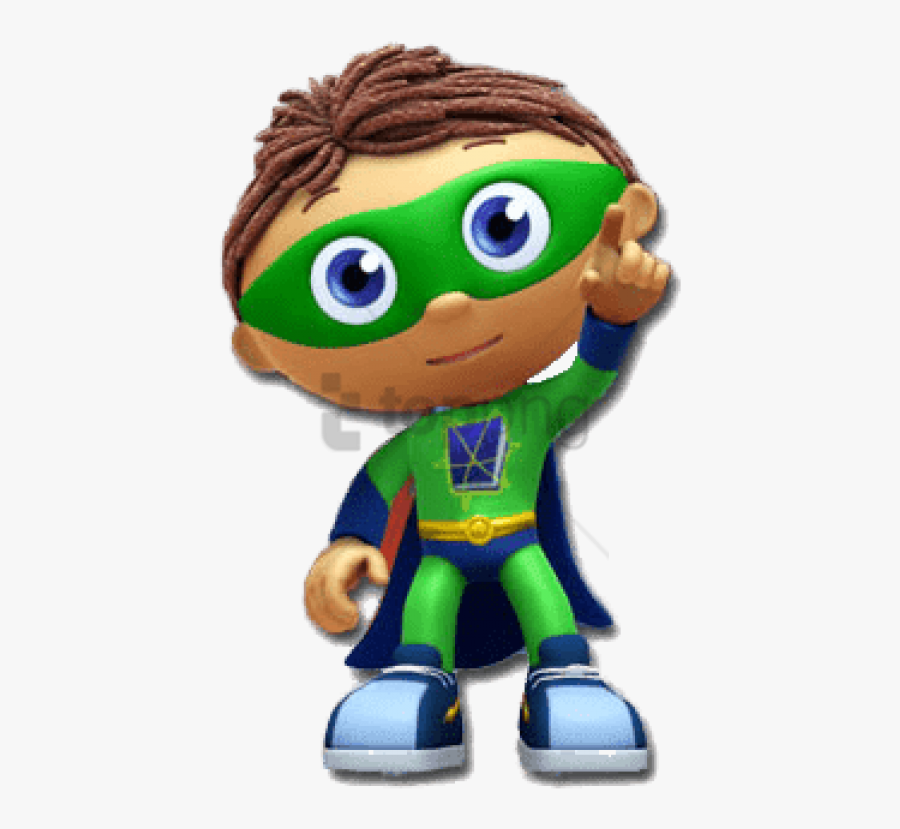 Super Why Clipart Free - Cartoon Boys From Tv Shows, Transparent Clipart