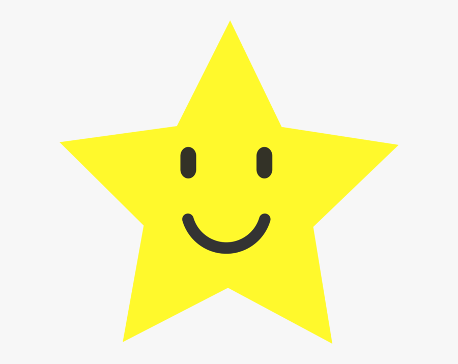 Smiley Star Clip Art - Spinning Star Gif Transparent, Transparent Clipart