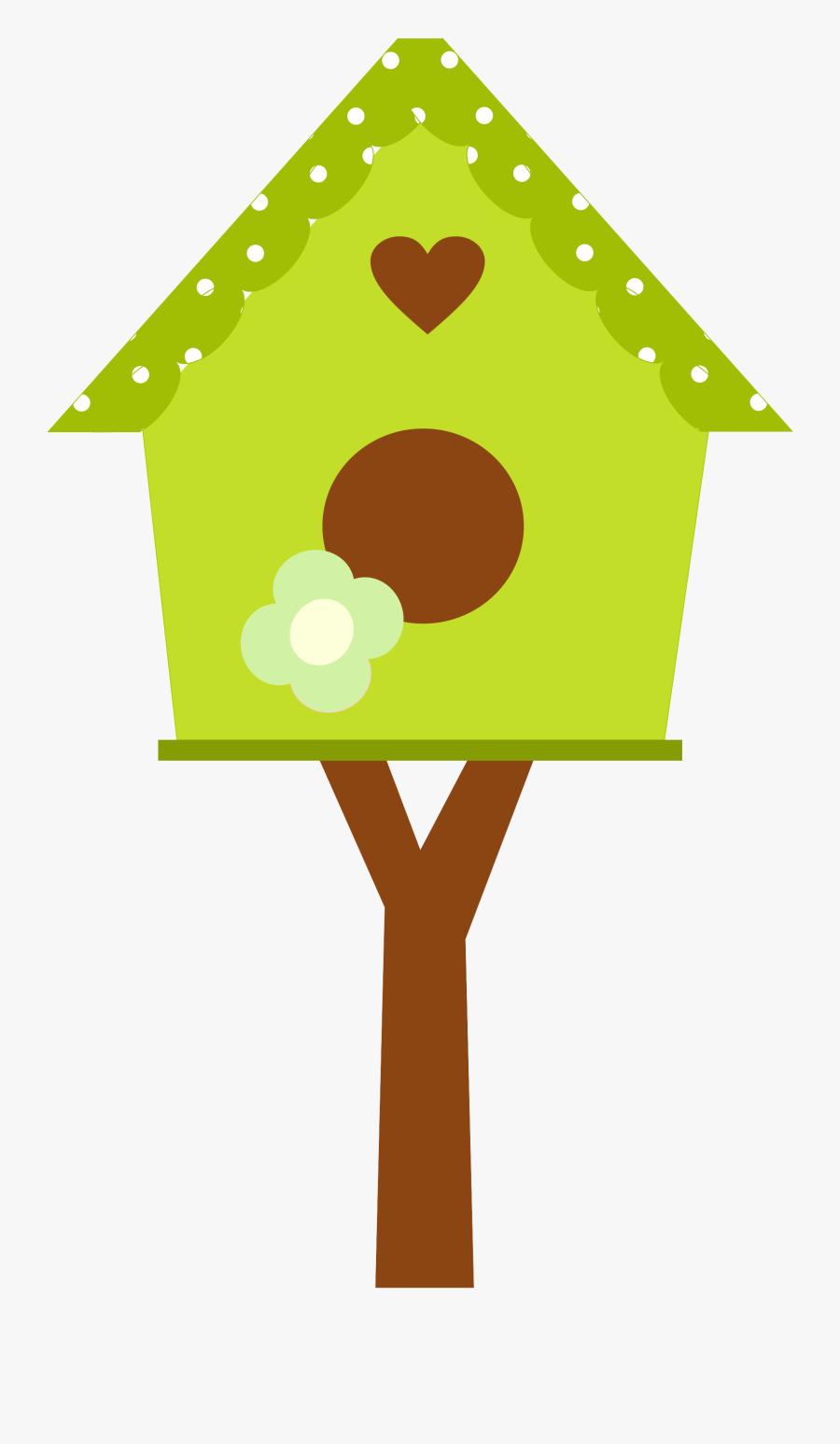 Bird House Clip Art, Transparent Clipart