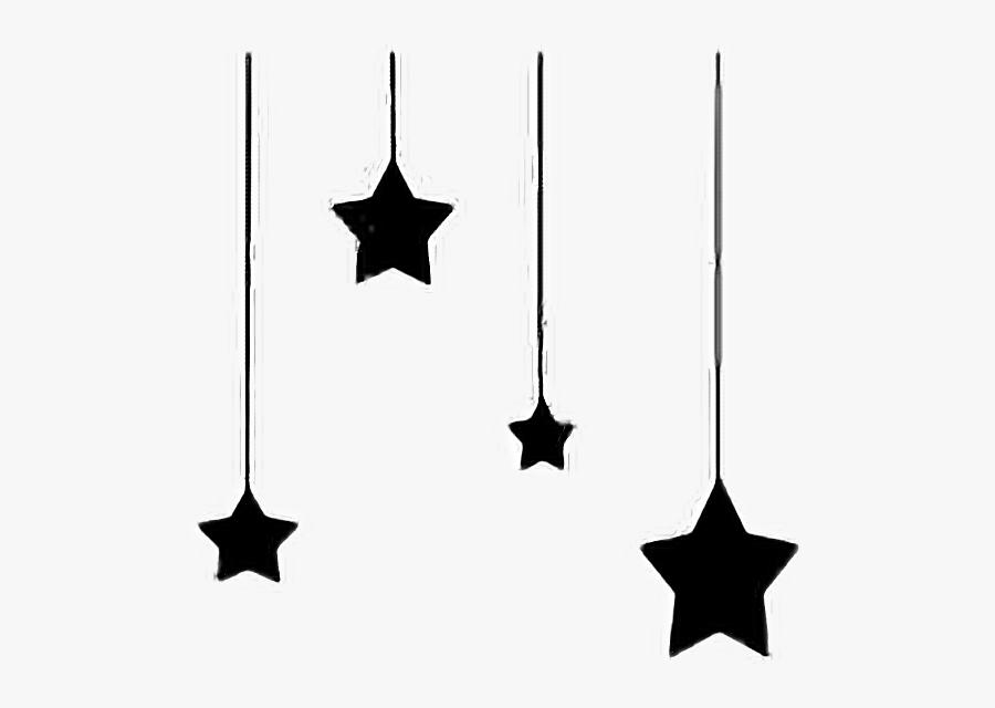 Transparent Constellations Clipart - Moon And Stars Outline, Transparent Clipart