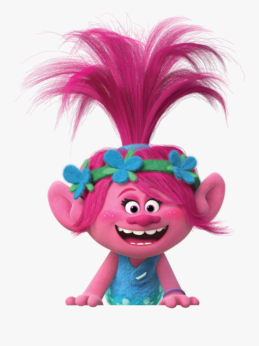 Troll Movie Png - Princess Poppy And Branch, Transparent Clipart