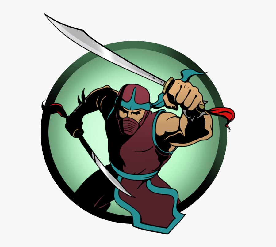 Ninja Clipart Ninja Shadow - Shadow Fight 2 Act 2 Characters, Transparent Clipart