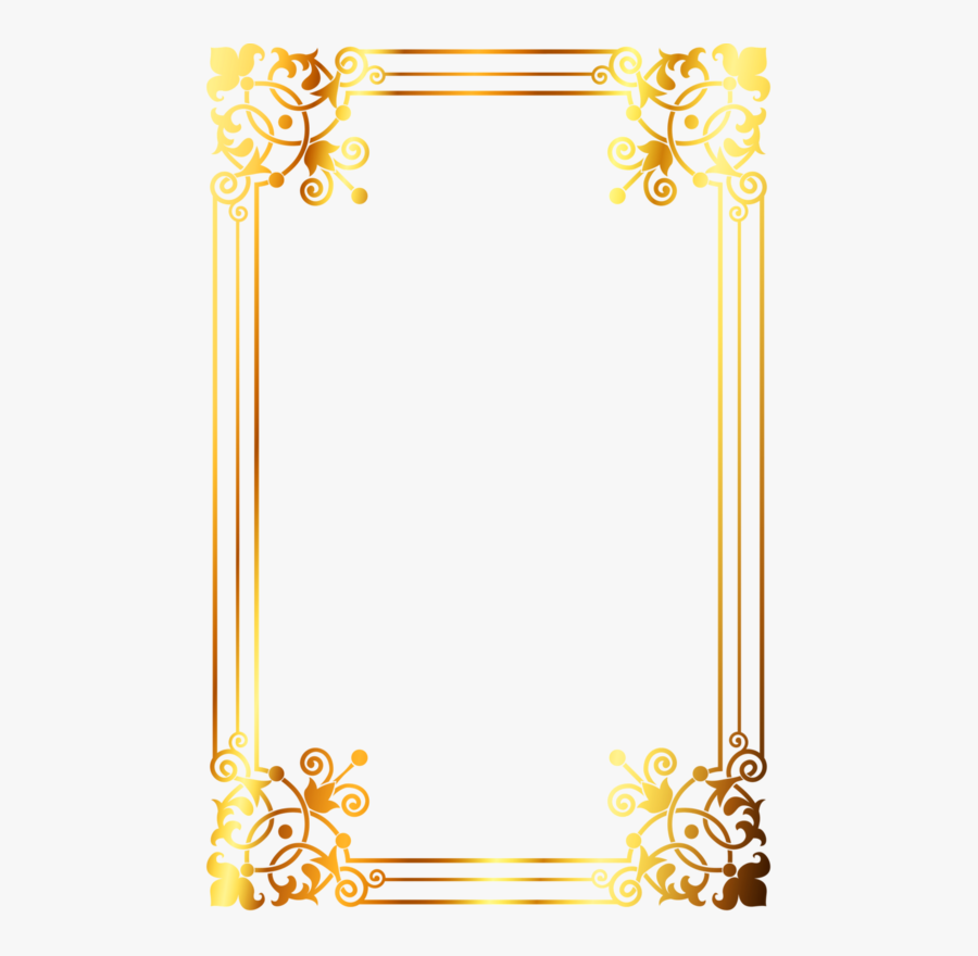Transparent Winter Border Clipart - Design Borders And Frames, Transparent Clipart