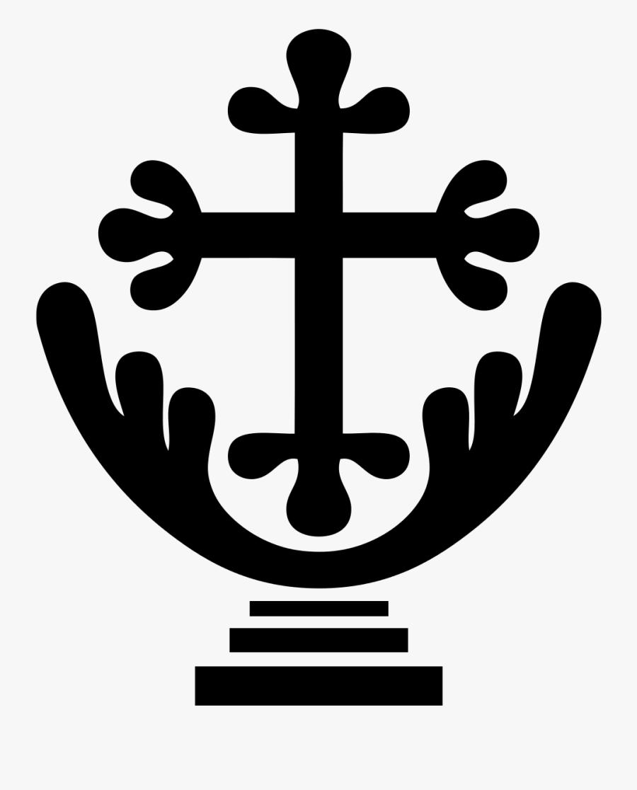 Christian Cross Clipart , Png Download - Saint Joseph Vaz Symbol, Transparent Clipart