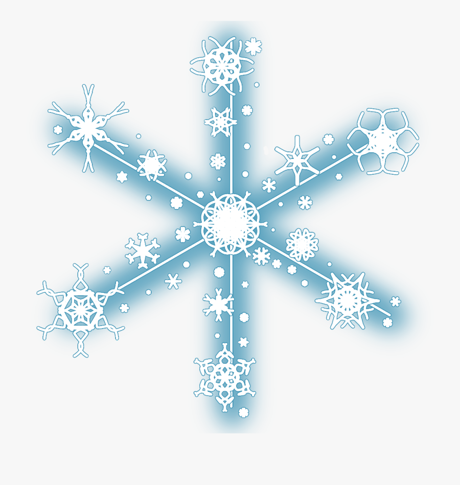 #neon #snow #snowflakes #christmas #snowflake #winter, Transparent Clipart
