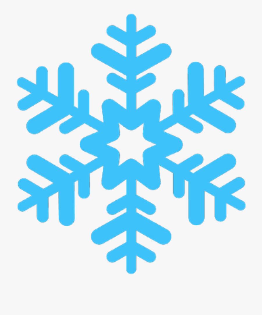 Clipart Snowflake Transparent - Transparent Background Snowflake Png, Transparent Clipart