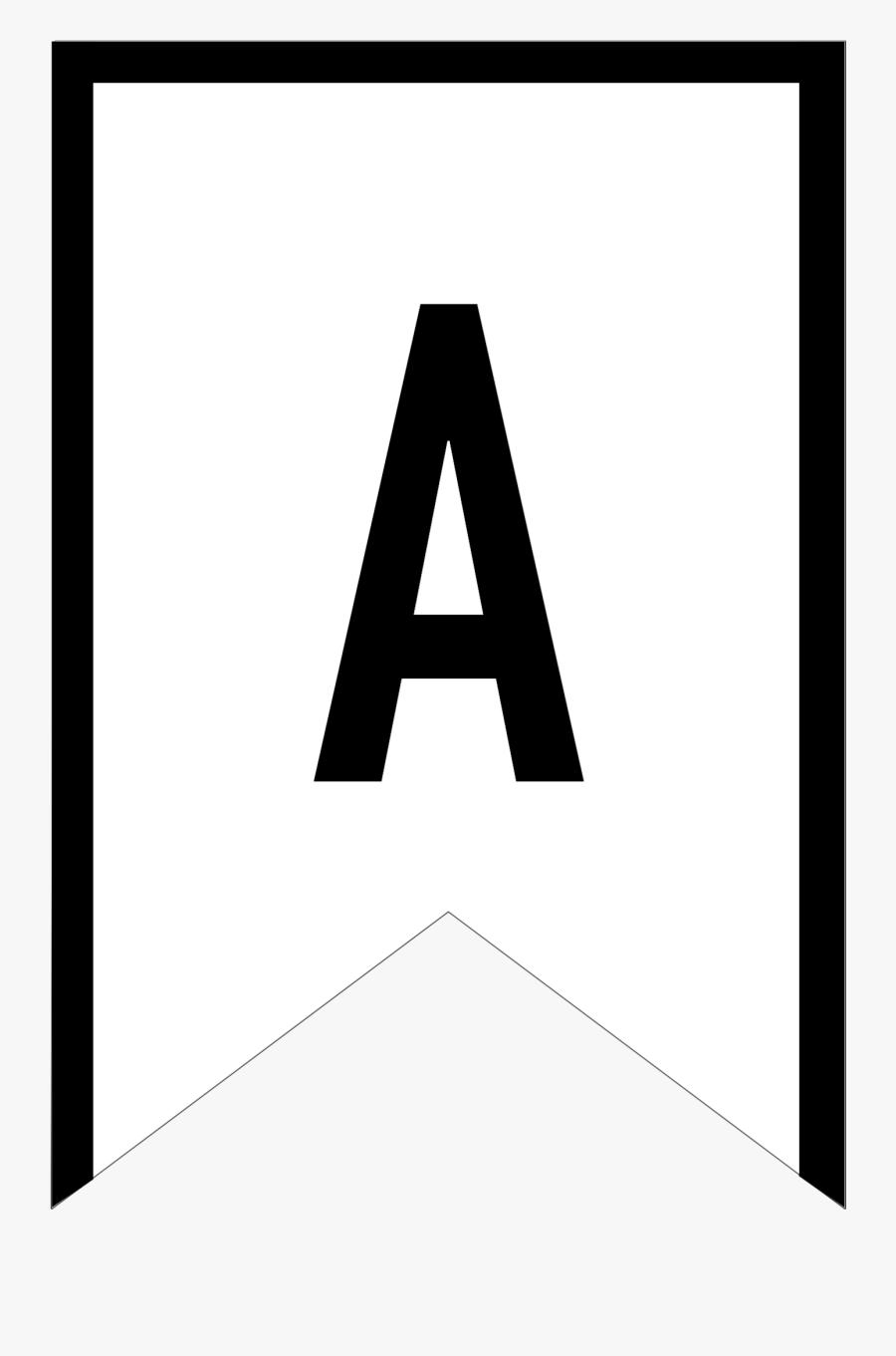 Printable Letter S Banner, Transparent Clipart