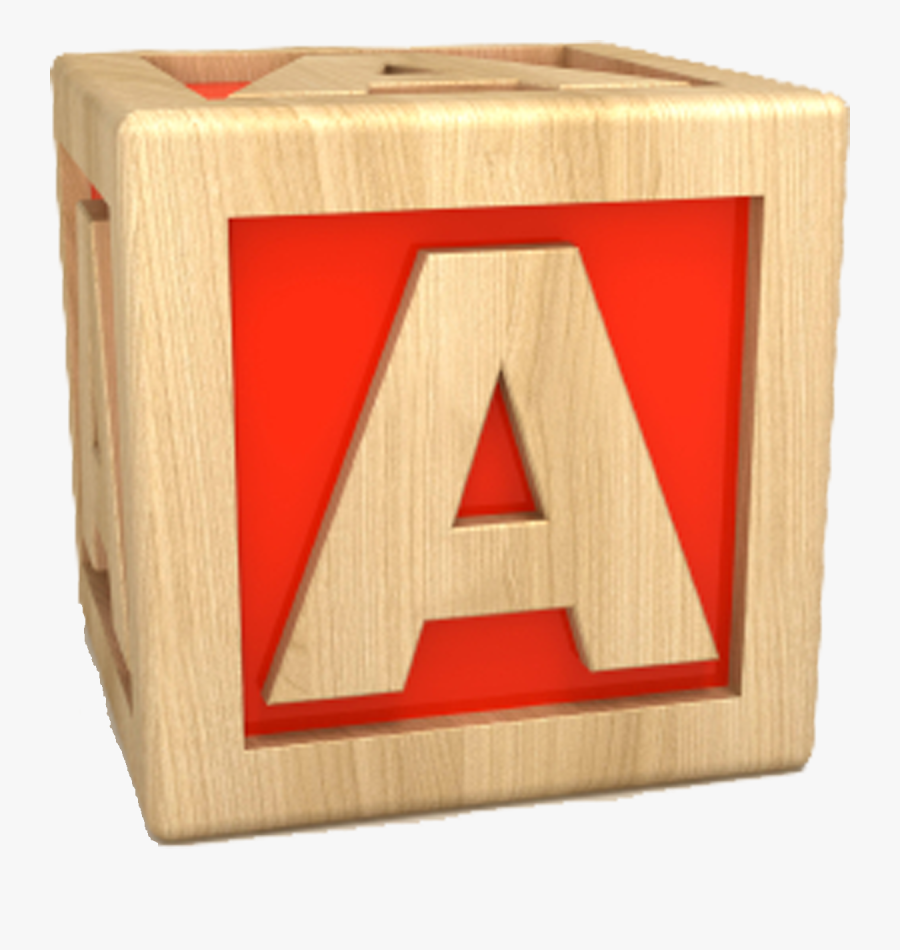 Active Letter A Clipart - Letter A In A Box, Transparent Clipart