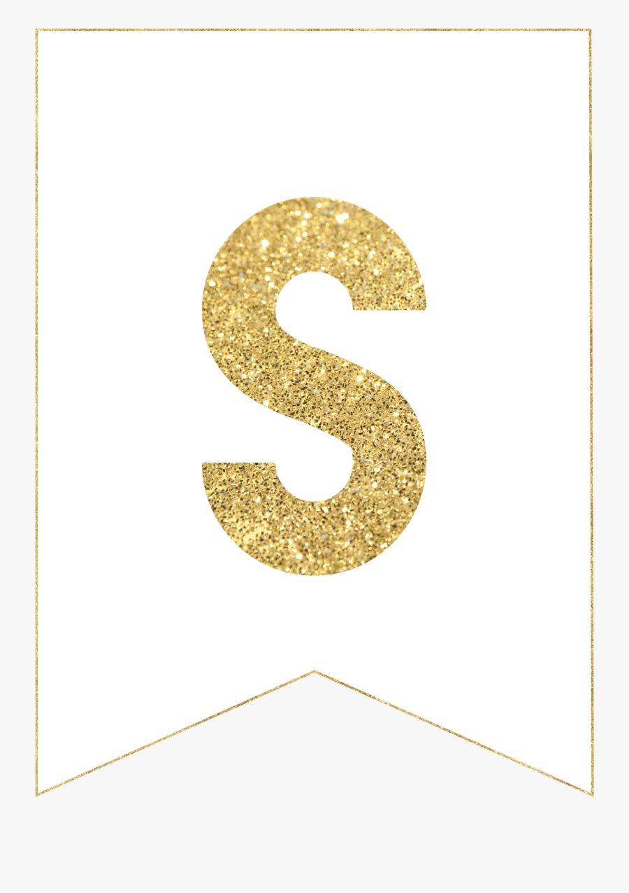 Gold Free Printable Pinterest - Free Printable Gold Letters, Transparent Clipart