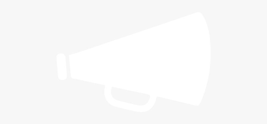 Sources Of Persuasion What - Megaphone Clip Art White, Transparent Clipart