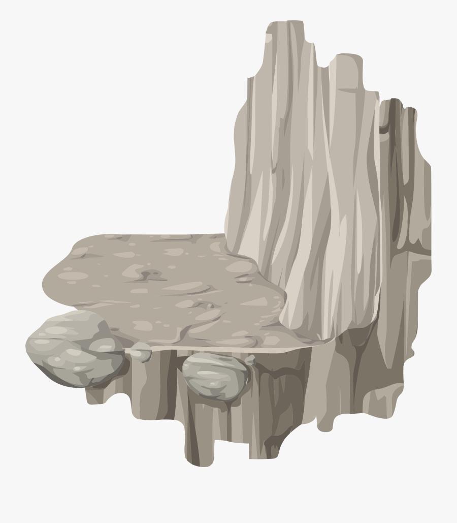Alpine Landscape Platform Horizontal Ledge Corner Right - Ledge Clip Art, Transparent Clipart