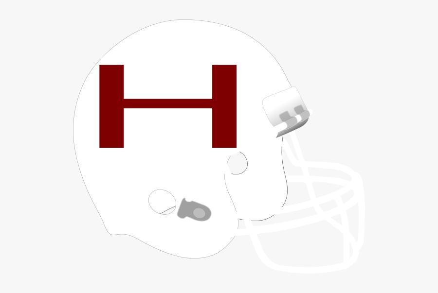 Hartnell Football Clip Art At Clker - White Football Helmet Clipart, Transparent Clipart