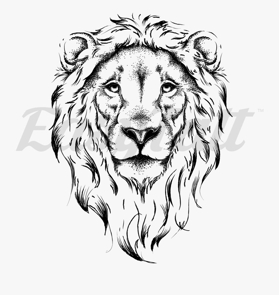 Drawing Lion With Crown Outline Of Lion Head Free Transparent Clipart Clipartkey Colorful asian lion chest tattoo. drawing lion with crown outline of