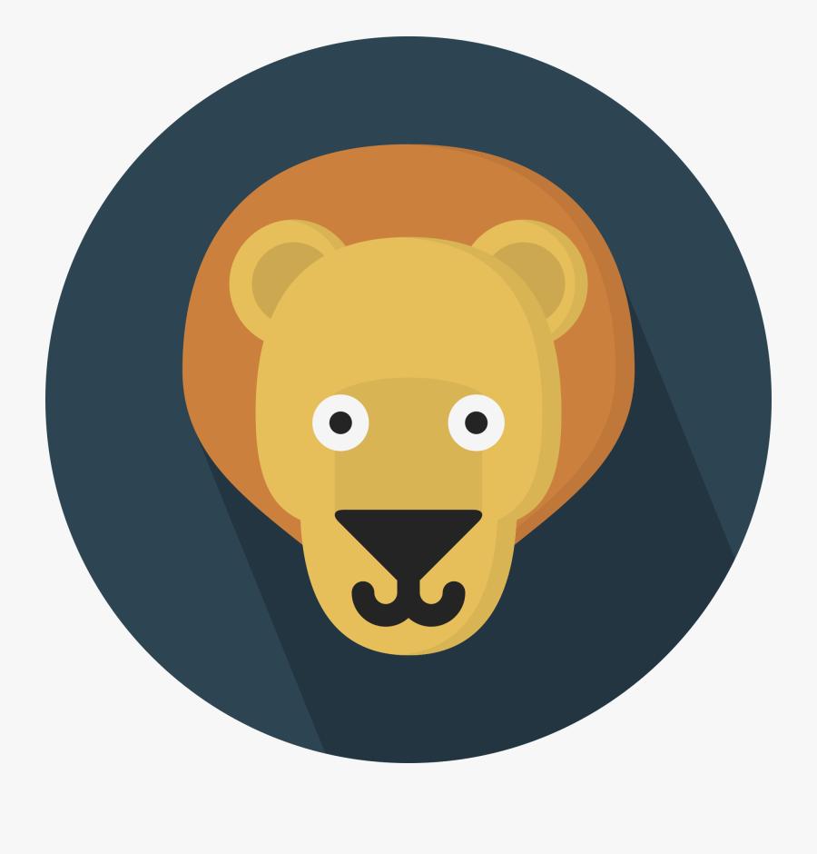 Cartoon Lion Head 28, Buy Clip Art - Portable Network Graphics, Transparent Clipart