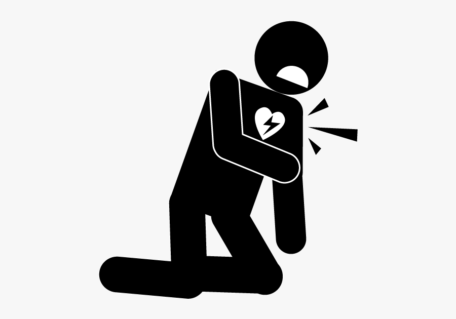 Disease Clip Art - Heart Attack Icon Png, Transparent Clipart