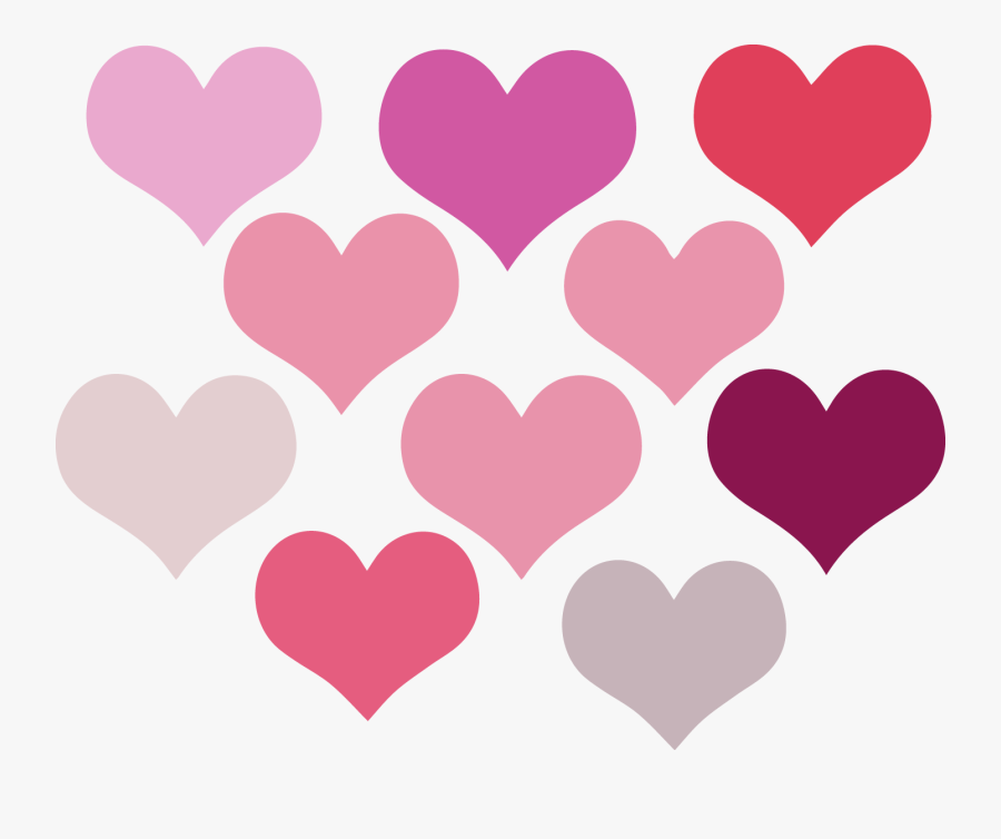 Love Heart Clipart - More Love Hearts Png, Transparent Clipart