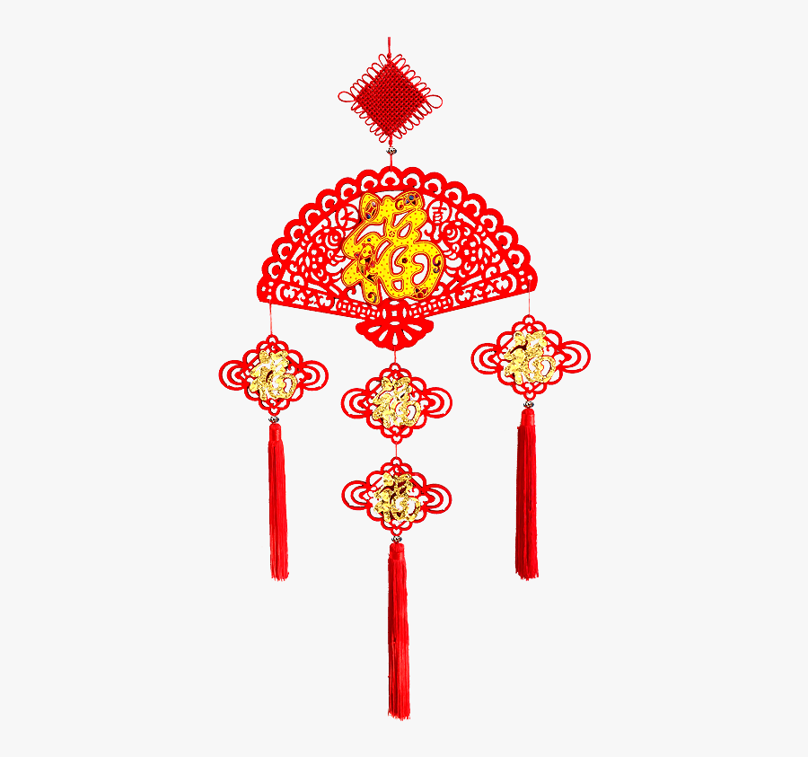 Chinese Hanging Decorations Png, Transparent Clipart
