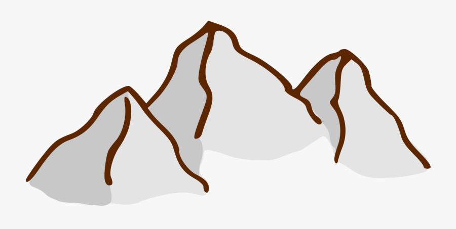 Rpg Map Symbols - Clipart Mountain Map Symbol, Transparent Clipart