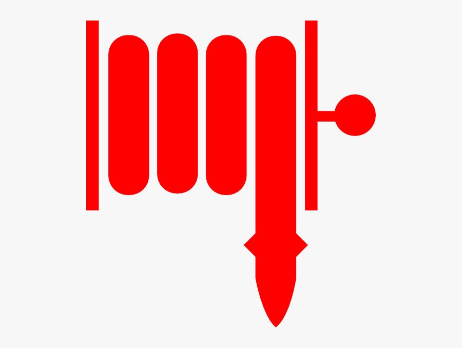 Fire Hose Symbol Clipart , Png Download - Fire Hose Symbol, Transparent Clipart