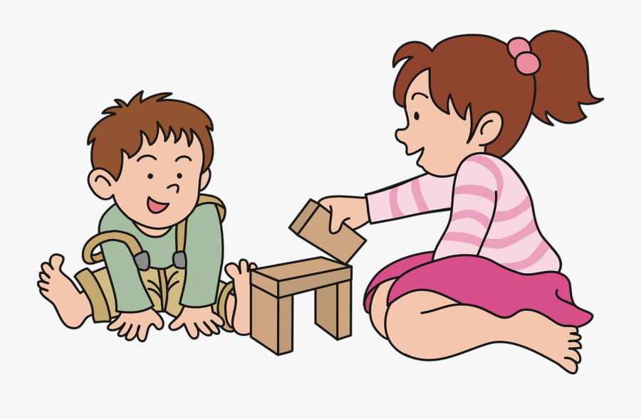 Kids Playing Clipart, Transparent Clipart