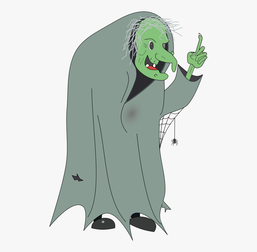 Free To Use &amp, Public Domain Witch Clip Art - Wicked Witch Hansel And Gretel, Transparent Clipart