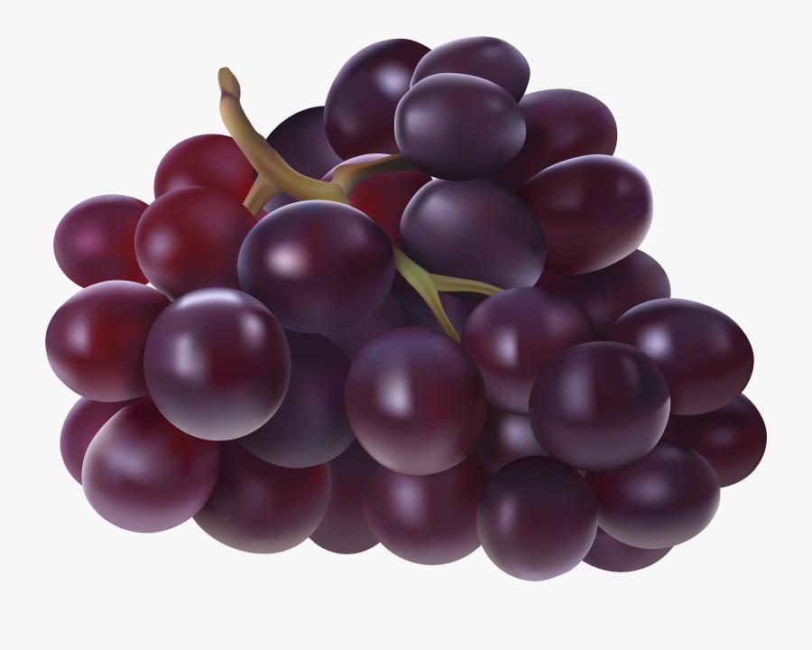 Juice Grape Fruit Clip Art - Grapes Fruit Clip Art, Transparent Clipart
