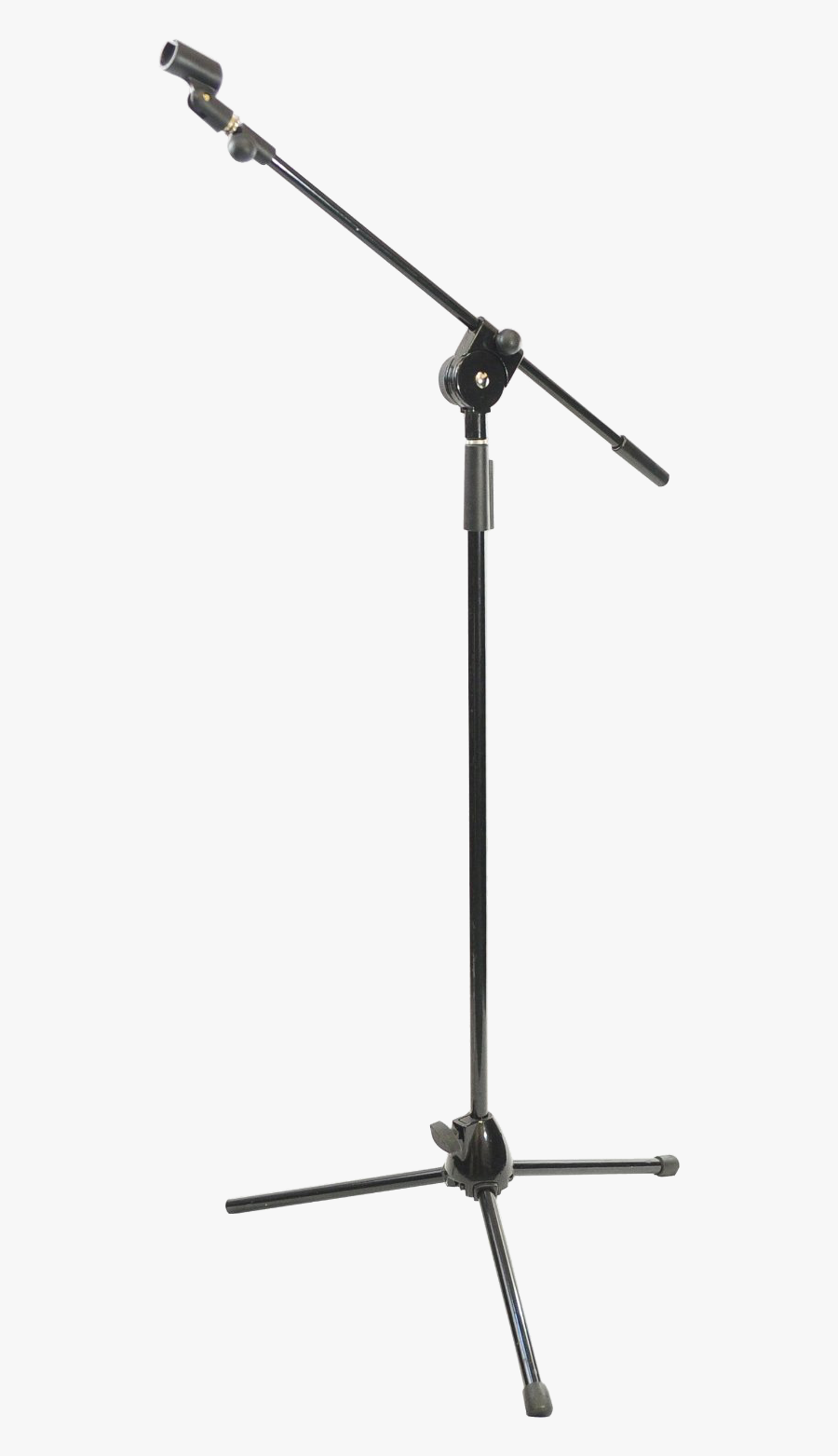 Microphone Stands Audio Shock Mount Recording Studio - Microphone Stand Transparent Background, Transparent Clipart