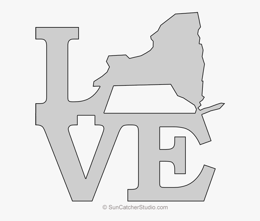 Transparent New York State Clipart - Drawing, Transparent Clipart