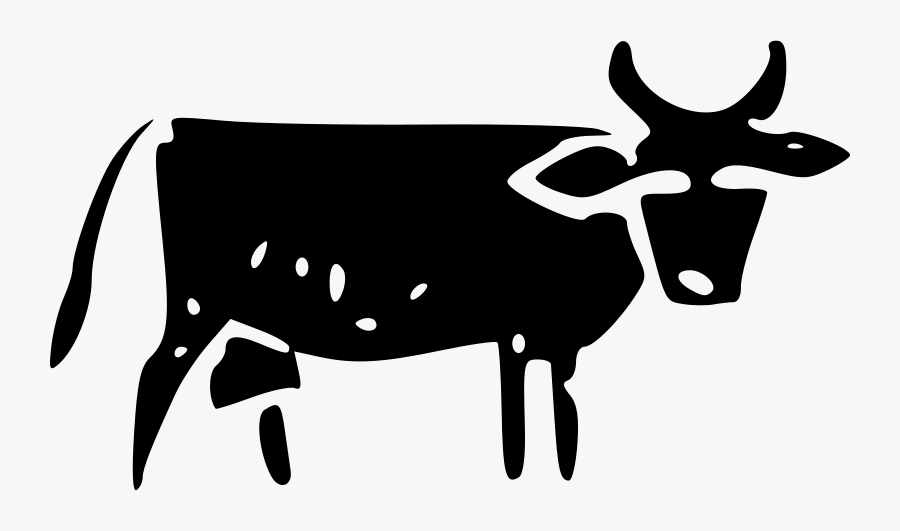 Map Icon - Cattle Symbol On A Map, Transparent Clipart